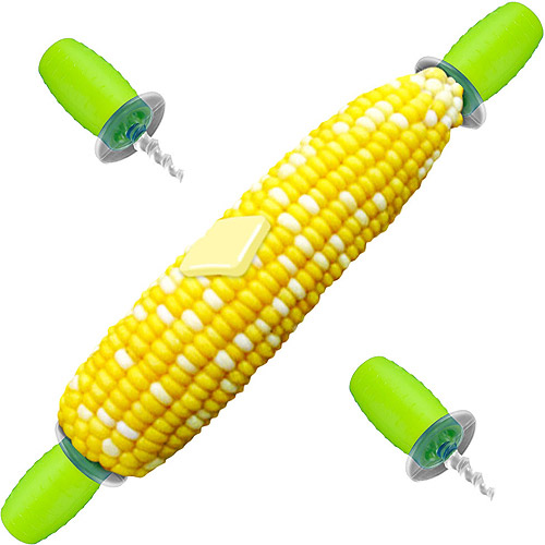 Chef Buddy 4 Single Screw In Corn Holders