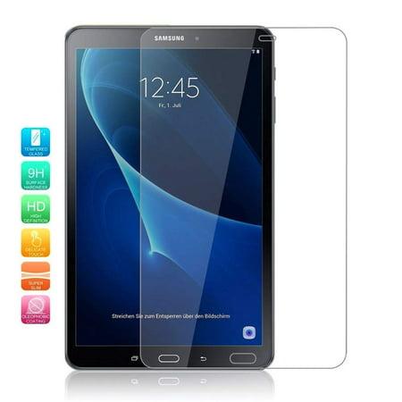 Galaxy Tab A 10.1 P580 Screen Protector, Premium 9H Tempered Glass Screen Protector for Samsung Galaxy Tab A 10.1 P580 SM-P580 (2 Pack) ()