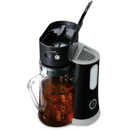 Mr. Coffee Tea Cafe Iced Tea Maker, Black