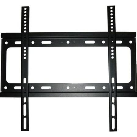 Tilt TV Wall Mount Bracket for flat screens 24, 30, 32, 37, 42 ,46, 47 ,50 ,52 ,55 inch Samsung, Sony, Vizio, LG, Sharp LCD LED Plasma TV - 110 lbs capacity, Max VESA 400 x 400 -