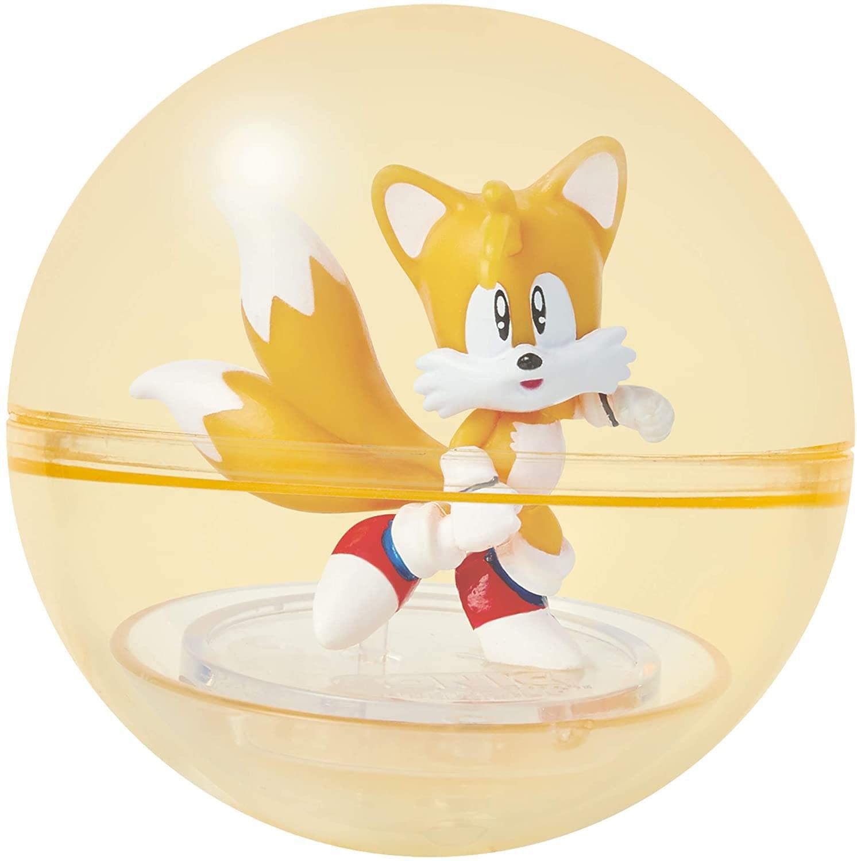 Sonic The Hedgehog 2 Inch Booster Sphere Figure Tails Walmart Com Walmart Com