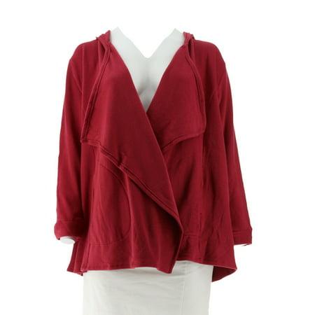 Cuddl Duds Fleecewear Stretch Lng Sl Wrap Hood A267447
