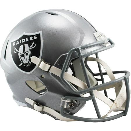 Riddell Oakland Raiders Revolution Speed Full-Size Replica Football Helmet