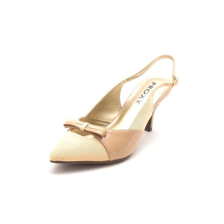 Proxy Womens Carey Pointed Toe Casual Slingback Sandals - image 2 of 2