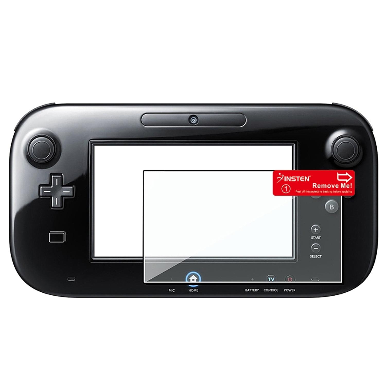 Insten Anti Scratch Reusable Screen Protector For Nintendo Wii U Gamepad