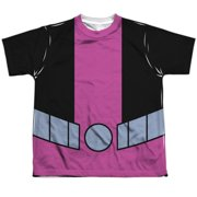 Teen Titans Go - Beast Boy Uniform - Youth Short Sleeve Shirt - Medium
