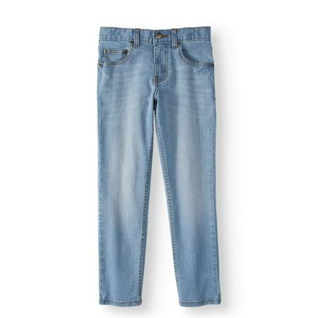 Boys Faded Glory Jeans (Wonder Nation Fashion Skinny Jeans (Little Boys & Big)