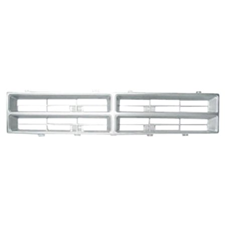 Silver Grill Assembly for Dodge D350, Pickup, Ramcharger Grille - Dodge D350 Pickup