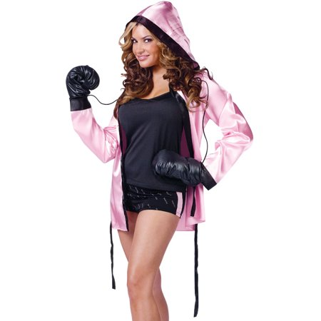 Women's  Instant Knockout Ali Boxing Robes Costume Small-Medium 2-8