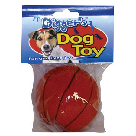 Diggers Basketball Dog Toy Latex](Toto Dog In Basket)