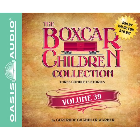 The Boxcar Children Collection Volume 39 : The Great Detective Race, The Ghost at the Drive-In Movie, The Mystery of the Traveling (Boxcar Grand Trunk)