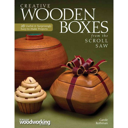 Creative Wooden Boxes from the Scroll Saw by