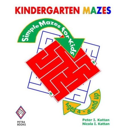 Kindergarten Mazes: Simple Mazes for Kids - eBook (Simple Kindergarten Halloween Crafts)