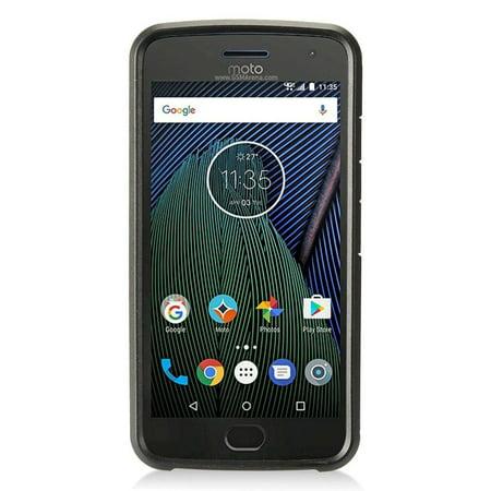 pick up 44b55 45807 Motorola Moto G5 Plus case, by Insten Dual Layer [Shock Absorbing] Hybrid  Hard Snap-in Case Cover For Motorola Moto G5 Plus, Blue