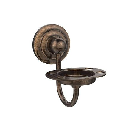 Allied Brass QN-TT6-VB Que New Collection Tumbler/Toothbrush Holder, Venetian Bronze - image 1 de 1