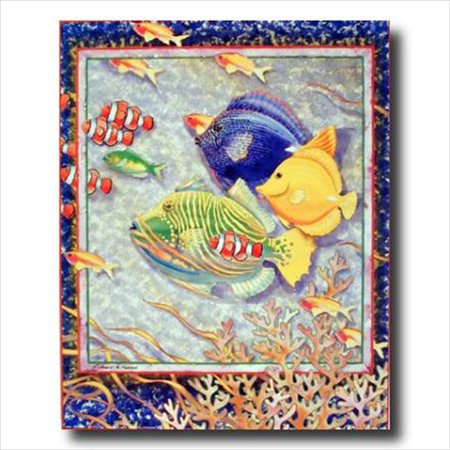 Kid Pictures To Print (Exotic Tropical Ocean Fish Kid Wall Picture Art)