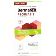 Best Psoriasis Treatments - 4 Pack - DERMAREST Psoriasis Medicated Skin Treatment Review
