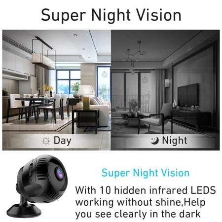 Outdoor Security Camera with WiFi Mini Wireless DVR Night Vision IP Camera - image 2 of 8