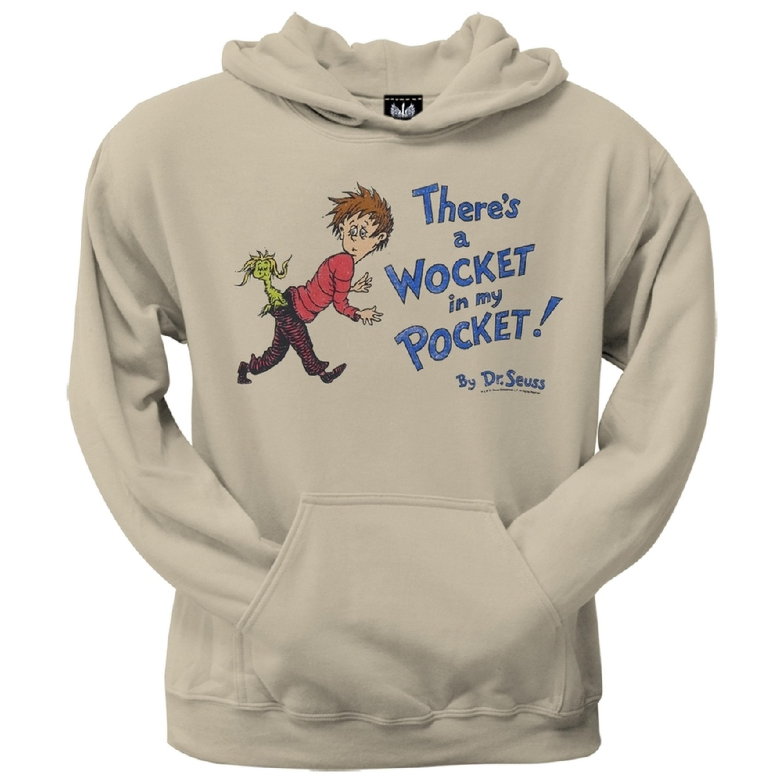 Dr. Seuss - Wocket Cover Distressed Hoodie