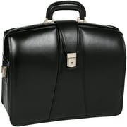 "McKlein, V Series, HARRISON, Top Grain Cowhide Leather, 17"" Leather Partners Laptop Briefcase"