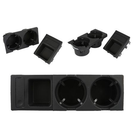 New Durable Plastic Black Front Holder For BMW E46 3 Series 1998-2004  Center Console Storing Coin Box Cup Holder box MZ