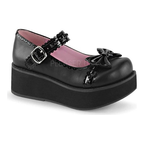 Women's Demonia Sprite 04 Platform Mary Jane by PleaserUSA