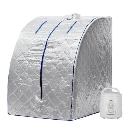 850W Therapeutic Steam Sauna Spa Head Cover Full Body Detox Weight Loss Health Care Steam Pot