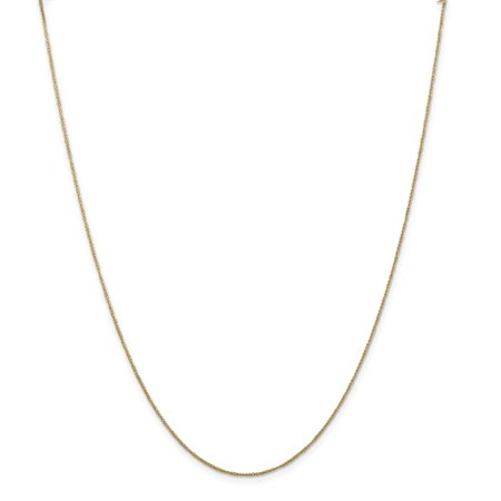 Indian Gold Jewelry - ICE CARATS 14kt Yellow Gold .70mm Ropa Necklace Pendant Charm Chain Rope Fine Jewelry Ideal Gifts For Women Gift Set From Heart