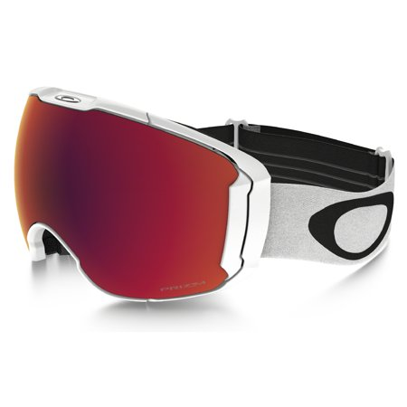 Oakley 2018 Airbrake XL (Polished White/Prizm Snow Torch Iridium) Goggles ()