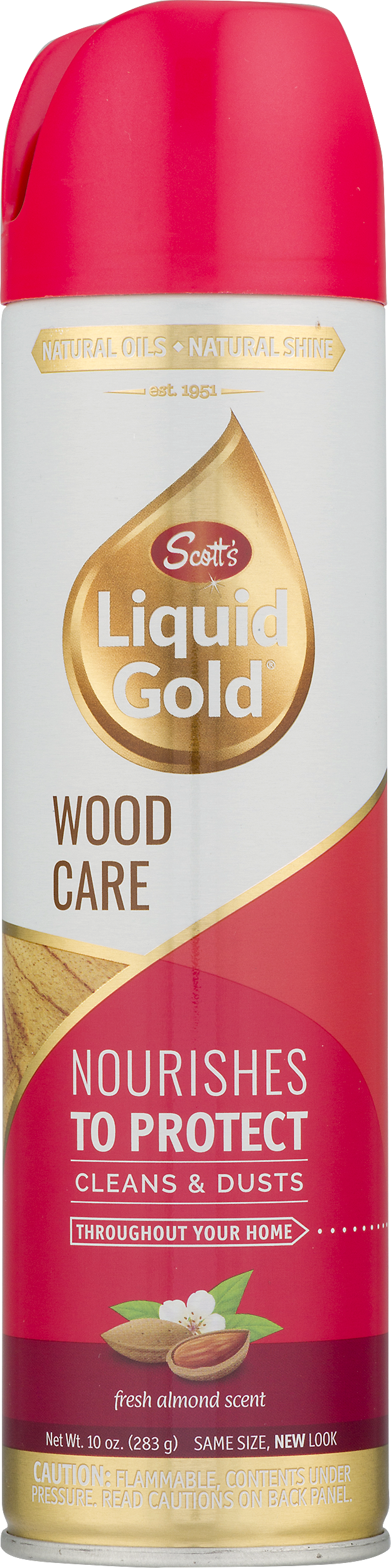 Scott S Liquid Gold Wood Care Aerosol Surface Protection 10oz