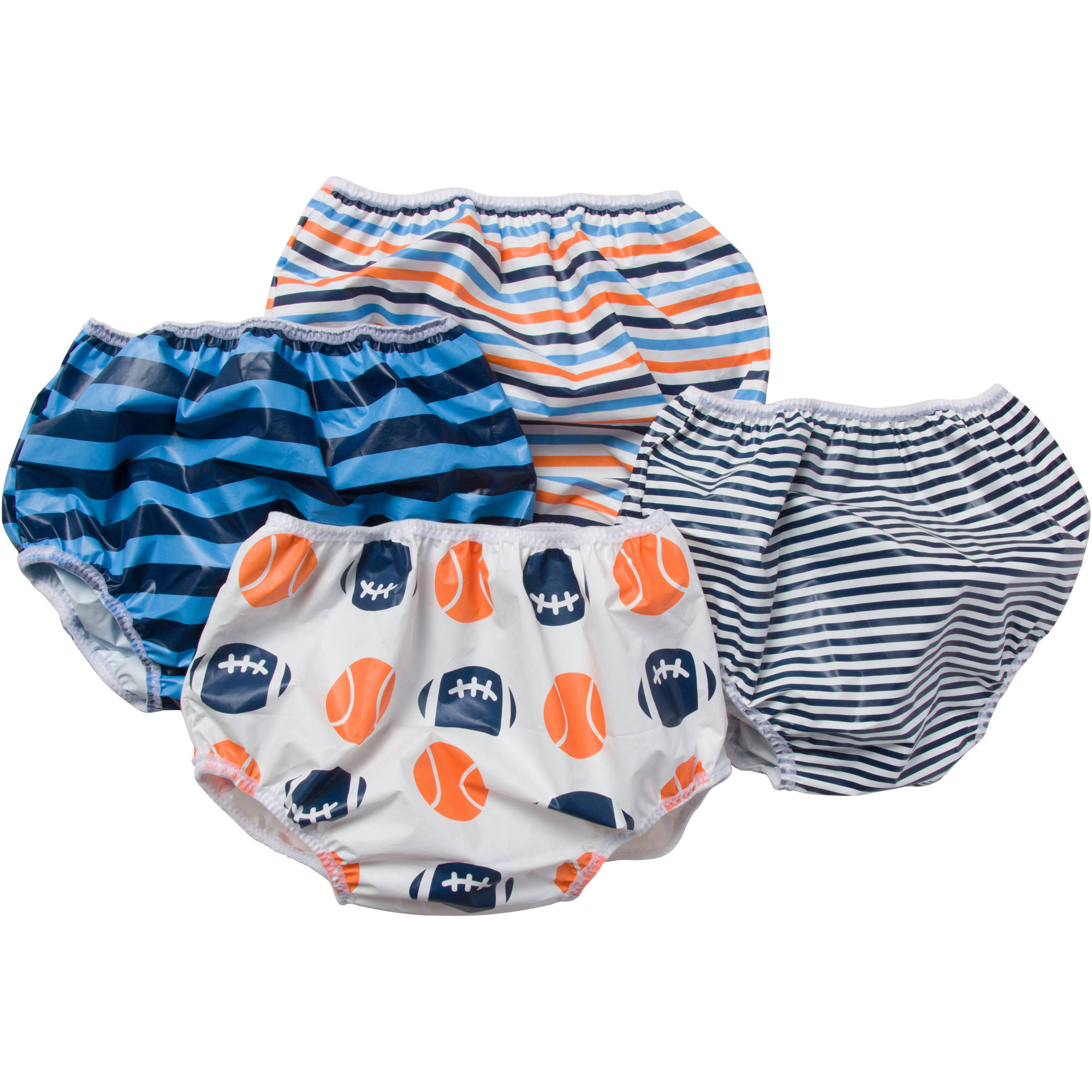 Gerber Baby Toddler Boy Blue Waterproof Pants - 4 Pack