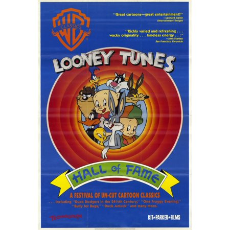 Looney Tunes: Hall of Fame (1991) 11x17 Movie Poster - Halloween's Hall Of Fame