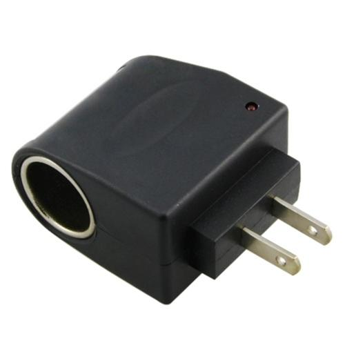 Universal ac to dc car cigarette lighter socket adapter india