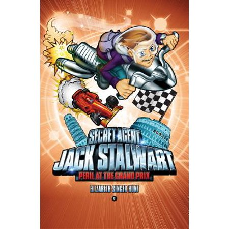 Secret Agent Jack Stalwart: Book 8: Peril at the Grand Prix: Italy