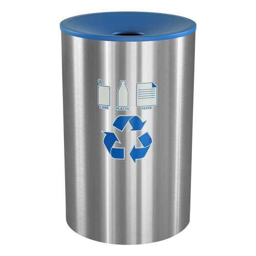 Ex-Cell Celebrity 45 Gallon Recycling Bin