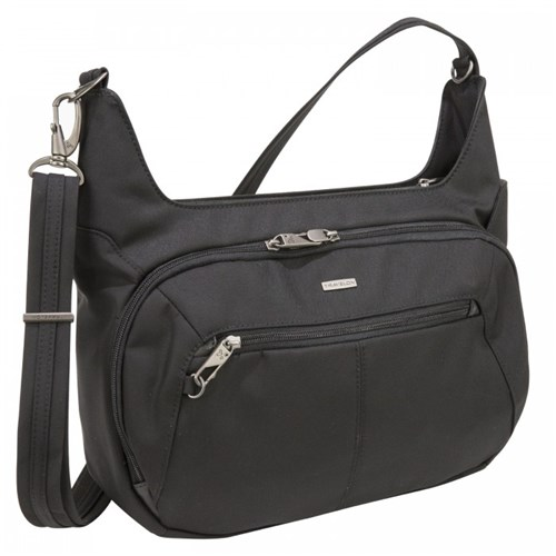 Anti-Theft Concealed Carry Hobo Bag 13 x 8 x 4.5