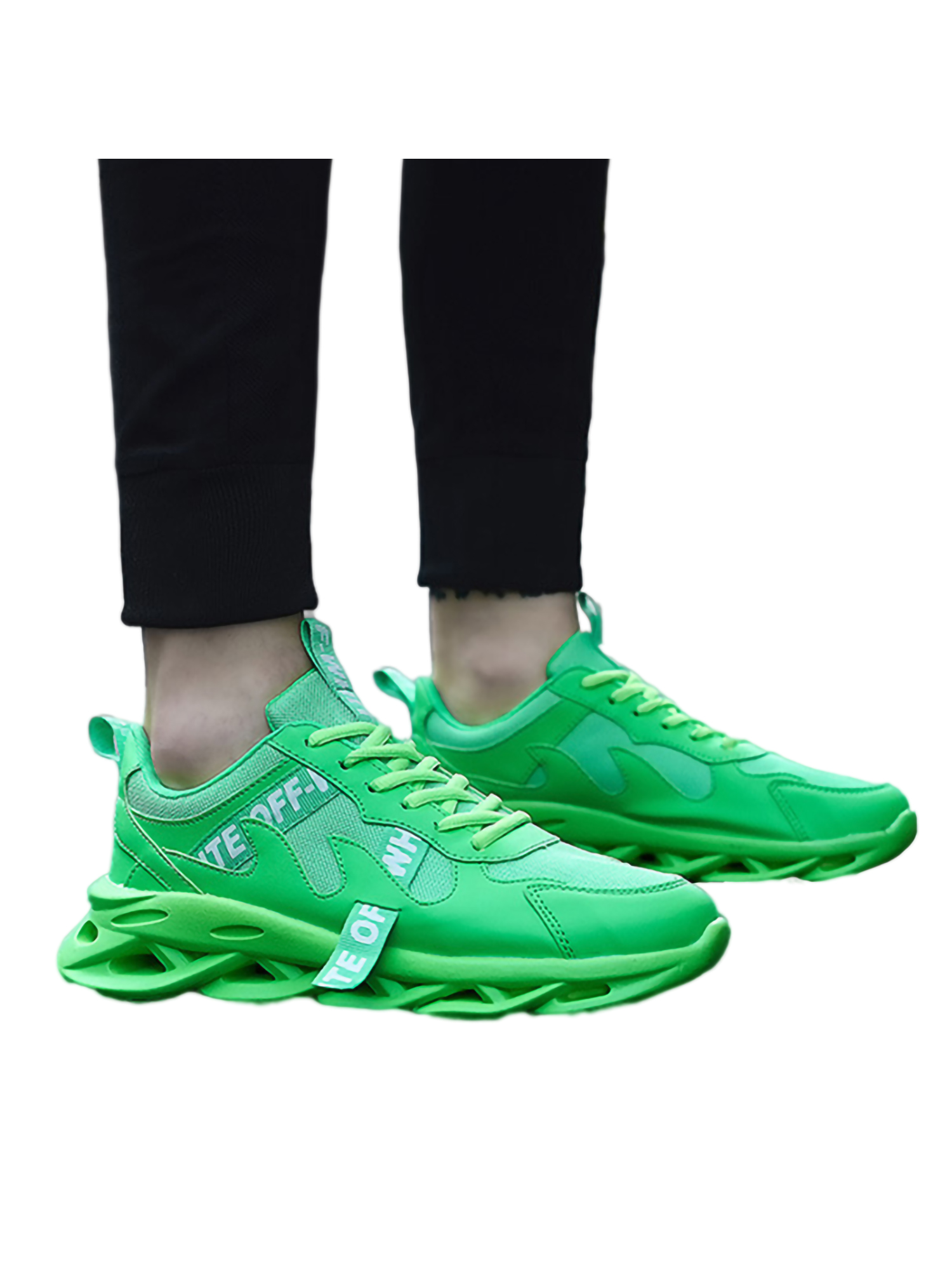 Mens Outdoor Running Lace Up Athletic Hiking Sport Low Top Sneakers Shoes New