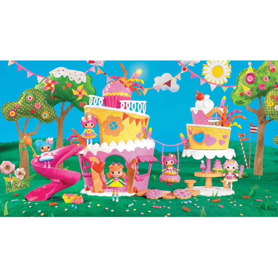 Lalaloopsy Bedroom Mini Lalaloopsy Super Silly Party Musical Cake Play Set Walmartcom