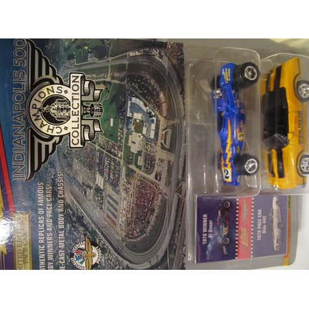 Indianapolis 500 Champion Series 1: 1970 Al Unser & 1970 Pace Car Olds 442, 1970 Indy 500 Winner Al Unser's Racecar AND 1970 Olds 442 Pace Car By Johnny Lightning
