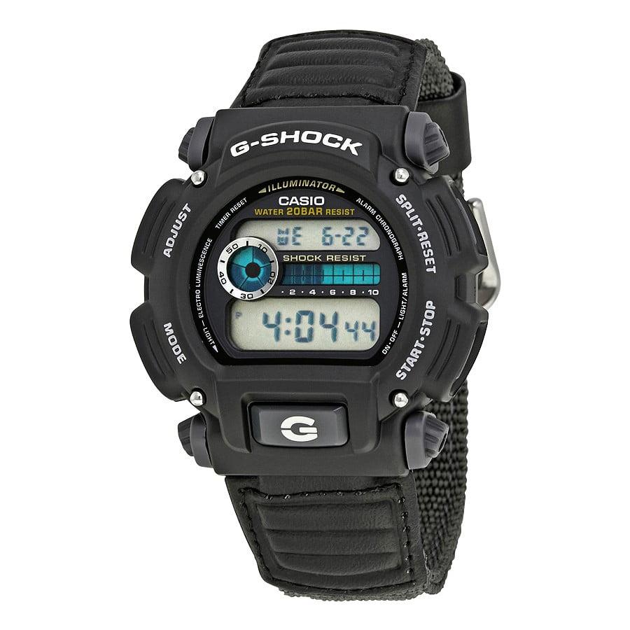 Men's G-Shock Watch, Grey Nylon Strap