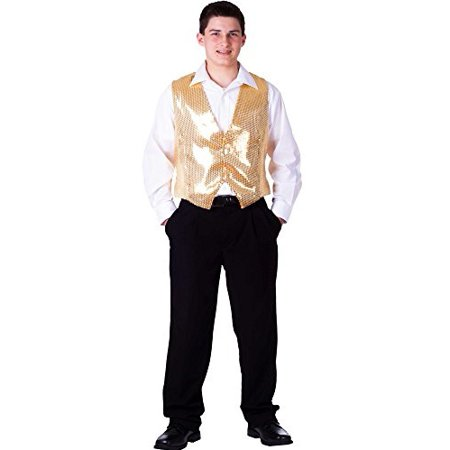Dress Up America  Men's Sequin Vest