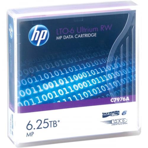 HP LTO-6 Ultrium 6.25TB MP RW Data Cartridge - image 1 de 1