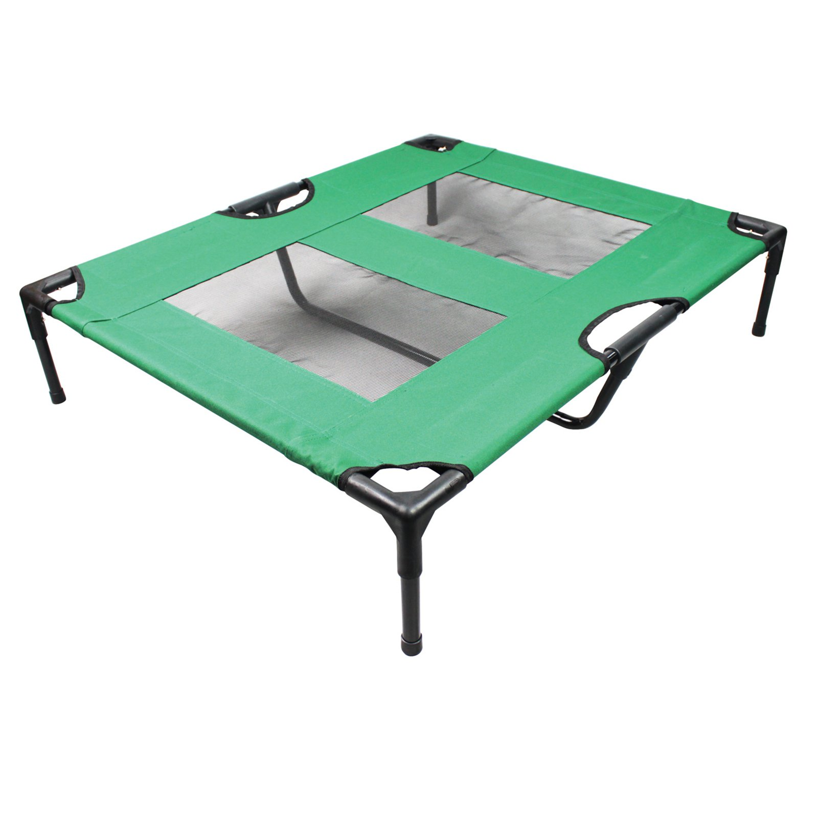 Iconic Pet The Lazy Pet Cot, Dark Green, Large