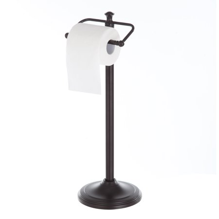 Better Homes and Garden Oil Rubbed Bronze Standing Toilet Paper Holder