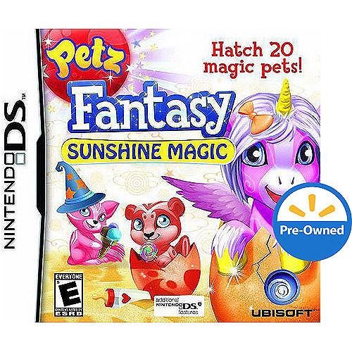 Petz Fantasy Sunshine  (DS) - Pre-Owned
