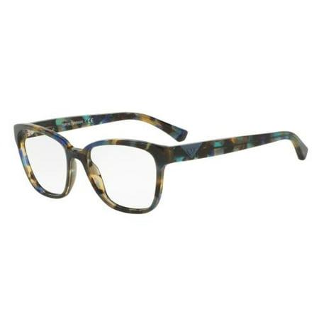 d02c6875b40 EMPORIO ARMANI Eyeglasses EA3094 5542 Havana Spot Blue 52MM - www. lesbauxdeprovence.com