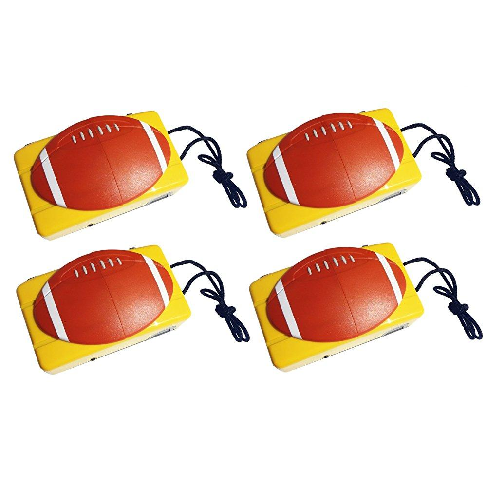 4 pack unique 35mm camera football theme young little boy...