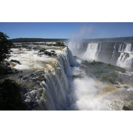 - Iguacu Falls, Iguacu National Park, Brazil Print Wall Art By Peter Groenendijk