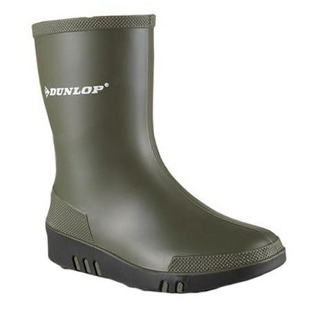 Dunlop Childrens Unisex Mini Waterproof Wellington Wellie Boot K180010 Size US 11.5 M | UK 10.5 | EU 29