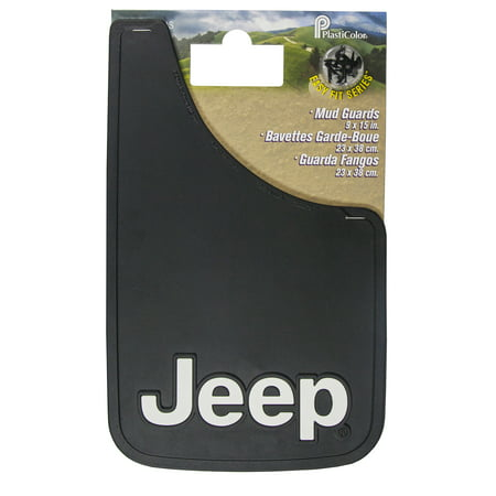 - Jeep Easy-Fit Mud Guard, 9